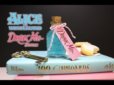 Drink Me Potion Bottle : DIY Prop Bottle : Alice in Wonderland Inspired