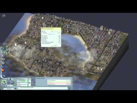 SimCity 4 Gameplay - Cleaning up a Dirty City