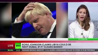 BoJo says Libyan city could be next Dubai if it clears bodies