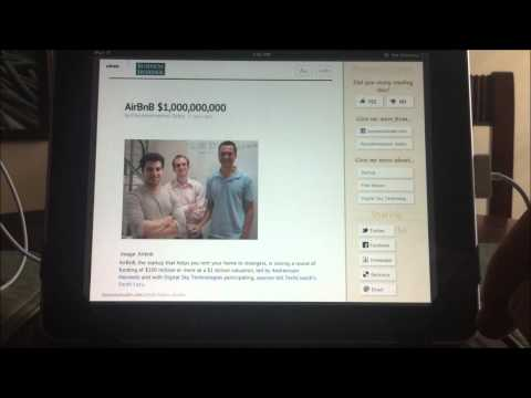 Zite Digital Magazine app review iPad