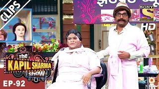 Bumper's makeup by Rajesh Arora in the parlour -The Kapil Sharma Show - 25th Mar, 2017