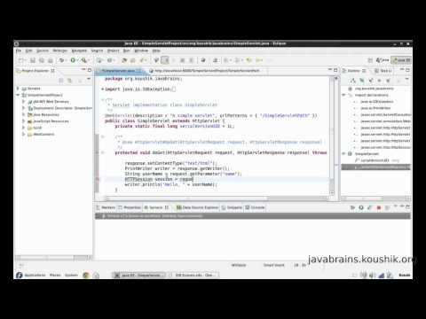JSPs and Servlets Tutorial 08 - Request, Session and Context Part 1