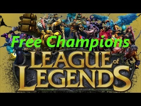 How to get free Champions in League of Legends - No Hack!