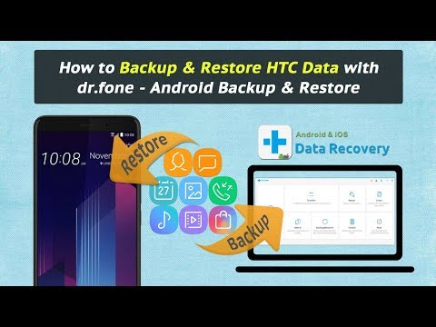 How to Backup & Restore HTC Data with dr.fone - Android Backup & Restore