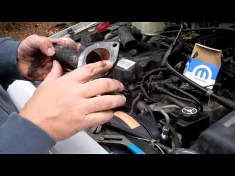 How To Change Thermostat on Jeep Cherokee 4.0 inline six