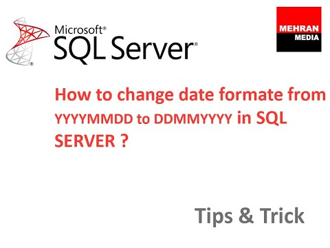 How to change date formate from YYYYMMDD to DDMMYYYY in SQL SERVER 2012?