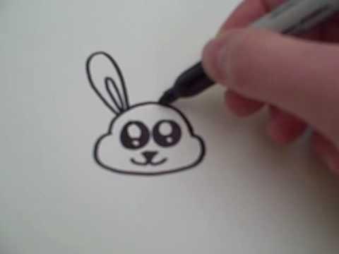 How to Draw a Cartoon Bunny