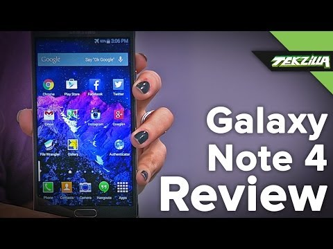 Samsung GALAXY Note4 Review