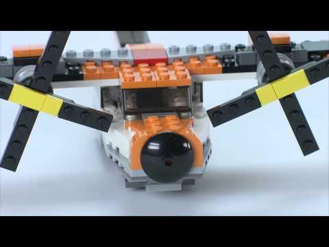 Transport Chopper at work - LEGO Creator - Designer Tips
