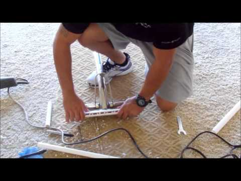 DIY/how to make $3.00 carpet cleaning wand GLIDE/Truckmount cleaning