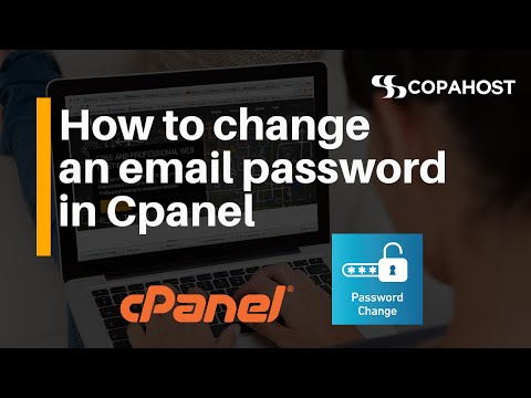 How to change an email password in Cpanel