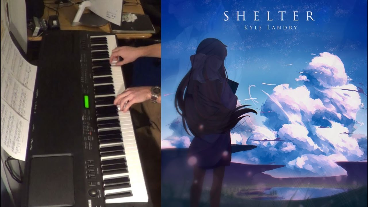 Shelter - Porter Robinson and Madeon (piano cover)
