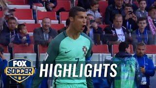 Cristiano Ronaldo scores early for Portugal vs. Russia | 2017 FIFA Confederations Cup Highlights
