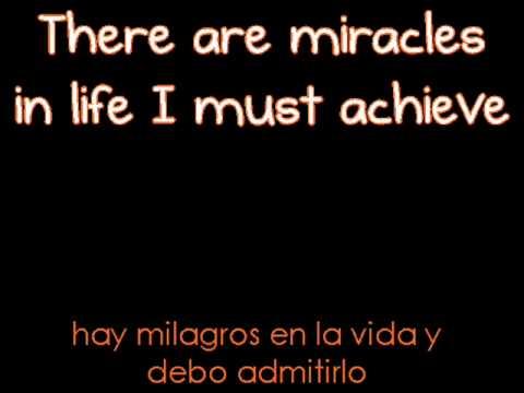 I believe I can fly   sub  ingles y español