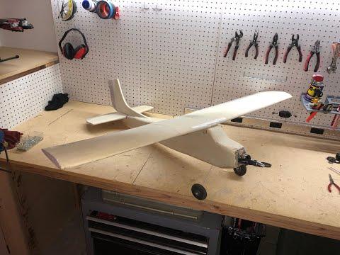 How to build foam RC plane cheap