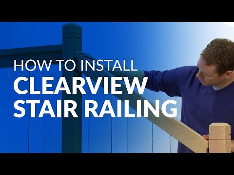 How to Install Clearview Stair Railing | BuildDirect