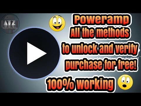 Poweramp full version unlocking & verifying for free | All