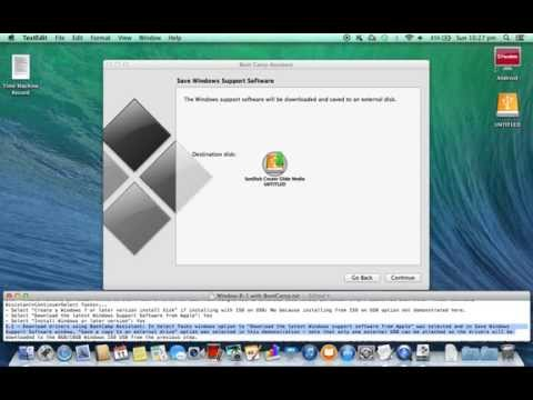 Part1 (Steps5 to 9): Install Windows 8.1 On Apple Mac Using BootCamp