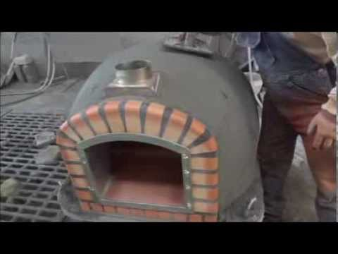Wood fired brick ovens Insulated with ROCKWOOL- Ch