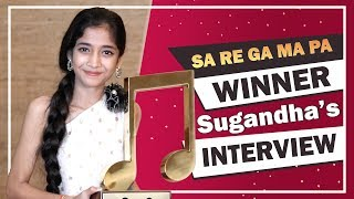 Sugandha Date Wins Saregamapa | Exclusive Interview | Zee tv