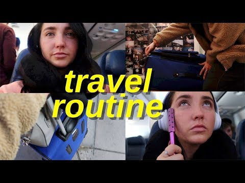 travel routine 2018   how to pack for vacation