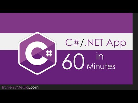 Build a C# .NET Application in 60 Minutes