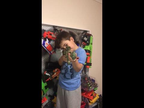 MY NERF GUN WALL | Hayden's World
