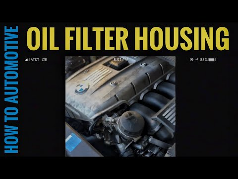 How to Replace the Oil Filter Housing on a 2006 BMW 330XI E90
