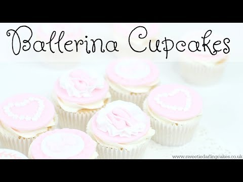How to make Ballet Cupcakes