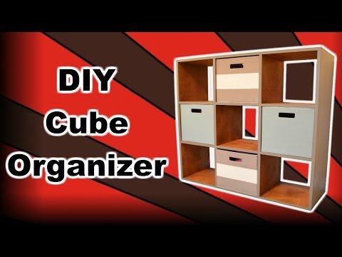 DIY Cube Organizer