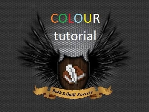 Minecraft Book and Quill colors tutorial