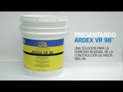 ¡PRESENTANDO ARDEX VR 98™! Anuncio de 30 segundos