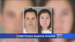 Couple Held For Abuse, Torture Of 5-Year-Old Left In Grave Condition