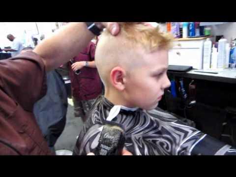 Trevor's Clipper haircut & Curved Shears Cut preview video