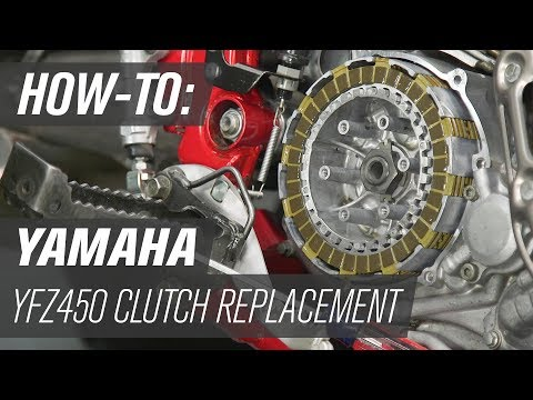 How To Replace the Clutch on a Yamaha YFZ450