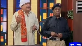 Hasb e Haal 6 March 2016 | Azizi as Sabzi Farosh