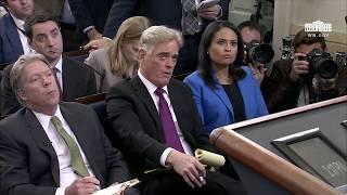 1/22/18: White House Press Briefing