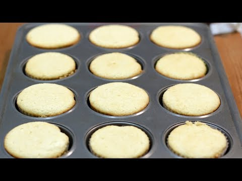 How to Make Vanilla Cupcakes | Easy Vanilla Cupcake Recipe