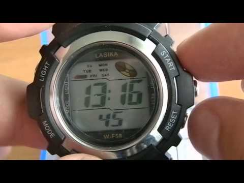 lasika часы инструкция