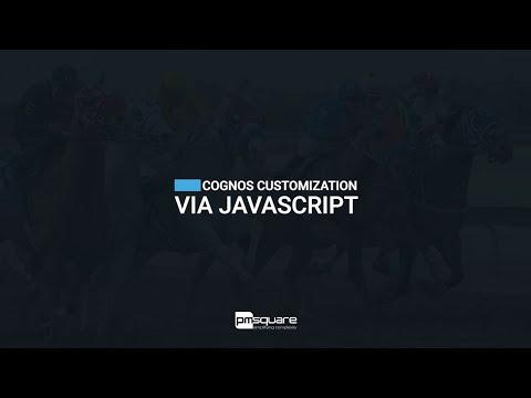 Cognos Customization via JavaScript