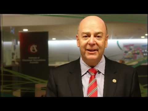 President Tim Gullifer FCA on Business Forum 2013 -- Institute of Chartered Accountants