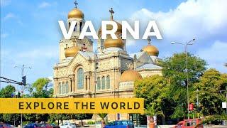 🇧🇬 VARNA Walking Tour | Bulgaria, Black Sea | 4K HDR 60fps