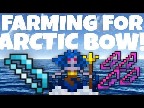 FARMING FOR ARCTIC BOW! SUCCESS! Drop Rate Test! (RotMG)