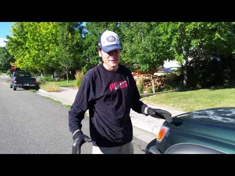 How the loosen a caliper bolt with a jack