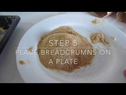 Crumbed Fish | Leftover Stale Bread