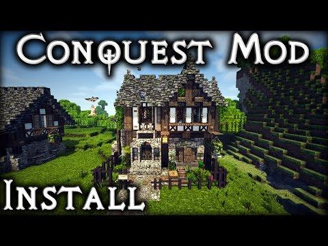1.8.9 Conquest Mod - Installation Tutorial