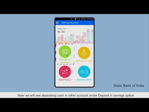 SBI DigiVoucher: Create Cash Deposit Vouchers (Video Created as on January 2017)
