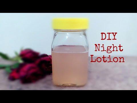 DIY Night Lotion | Glycerine | Rose water | lemon juice |