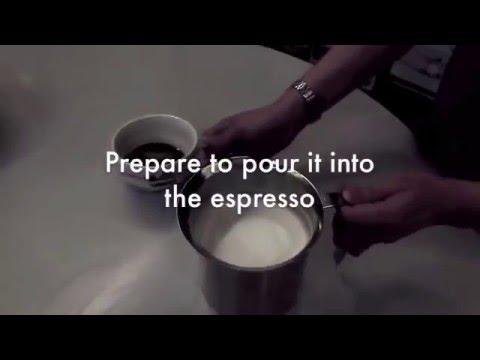Bình tạo bọt sữa bằng tay - Cách làm capuchino không cần dùng máy