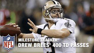 Drew Brees' 400th Passing TD | Milestone Tracker: Career Highlights | NFL